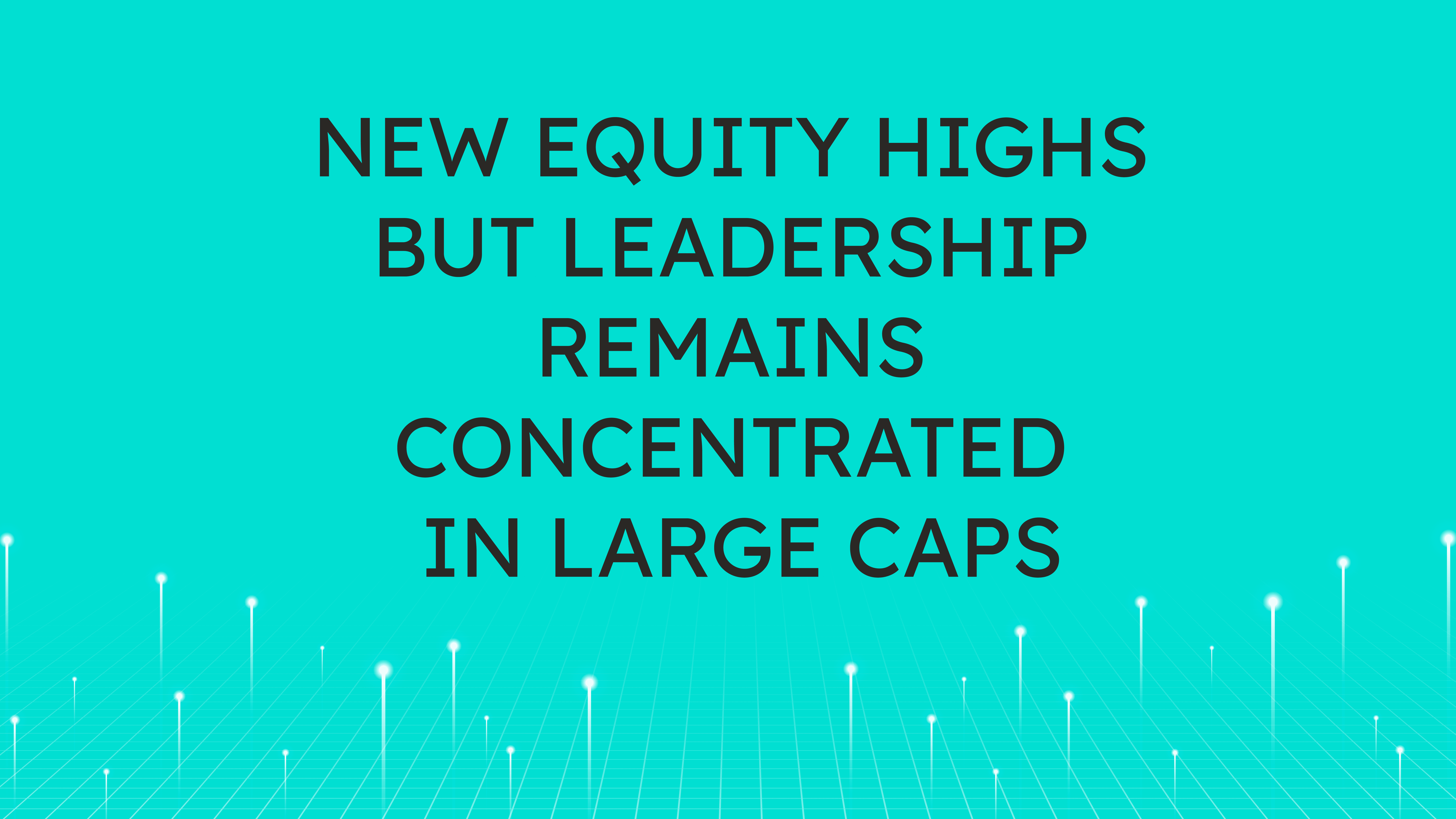 New Equity Highs but Leadership Remains Concentrated in Large Caps